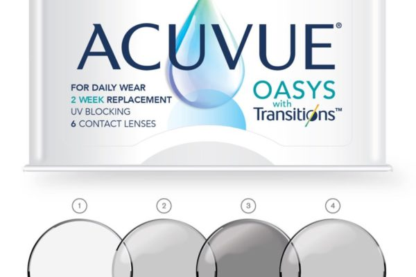 How does ACUVUE® OASYS with Transitions™ work?